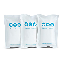 Brica® Clean-To-Go Package de Lingettes de Rechange